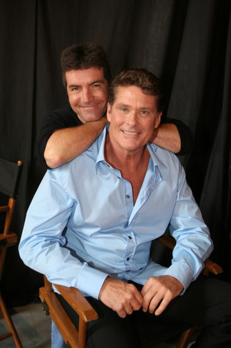 Hasselhoff and Cowell