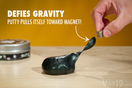 magnetic-thinking-putty-defies-gravity