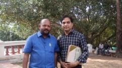Hon. Minister state of agriculture of Kerala Mr. V. S. Sunil Kumar.