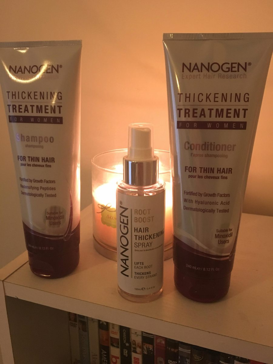 Nanogen Hair Thickening Treatment review*