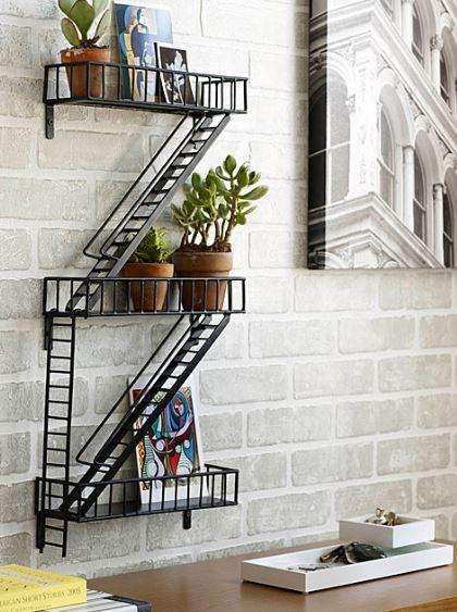 Fire Escape Shelf