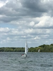 Sports adventure 2, Monday 3rd June, sailing at Alton Water