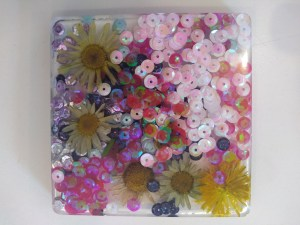 CoCoCreatives, Monday 24th June, resin coasters