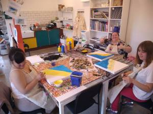 Wednesday 30th October, Developing Independence – Brightlingsea beach art