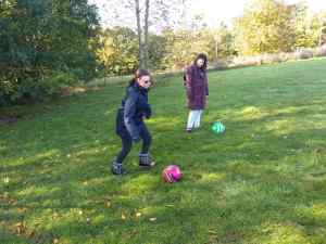 Tuesday 22nd October, Sports Adventure 3 – Foot golf, driving range and yoga