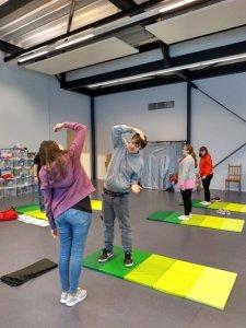 Tuesday 26th November, Sports Adventure 4 – Felixstowe and yoga