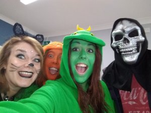 Thursday 31st October, Halloween party part 2