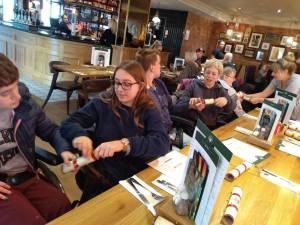 Monday 16th December, Sports adventure 2 – Pub lunch.