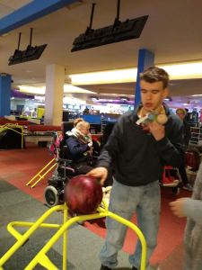 Monday 9th December, Sports Adventure 2 – Bowling and biscuits