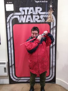 Tuesday 17th December, Sports Adventure 3 and 4 and Community Inclusion and Volunteering – Star Wars secret hunt and lazer tag