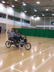 Tuesday 3rd December, Sports Adventure 3 and 4 – healthy eating and cycling