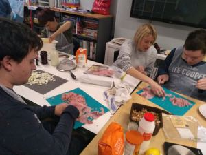 Tuesday 14th January 2020, Coco enterprise – Chinese New year colours and Cooking.