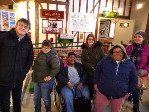 Thursday 9th January 2020, Developing Independence 1 – Gateway Work & Tea Room.