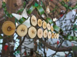 Christmas tree decoration at Coco Palm Dhuni Kolhu