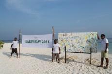 Coco Bodu Hithi Earth Day Tribute Board