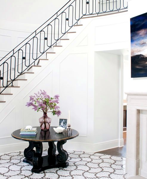 Beautiful Front Hall And Staircase: COCOCOZY