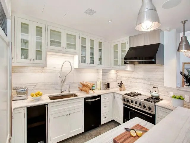 kitchens with white cabinets and black appliances home share kitchen kitchens with white - Kitchen With White Cabinets