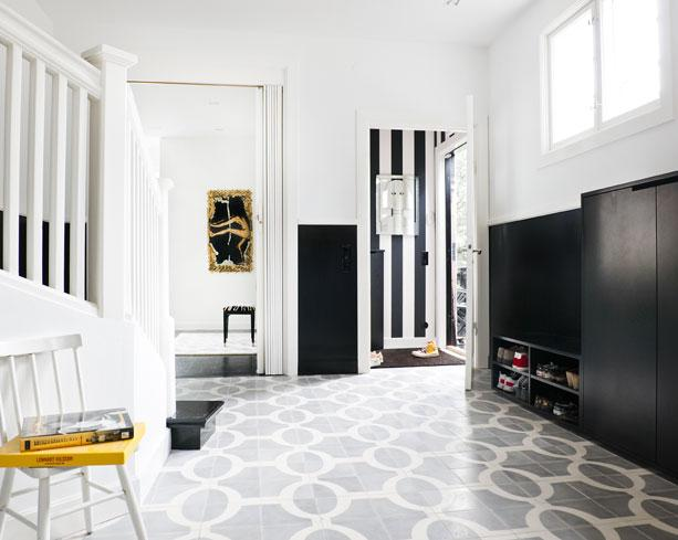 Tile File Floored By Three Foyers Cococozy