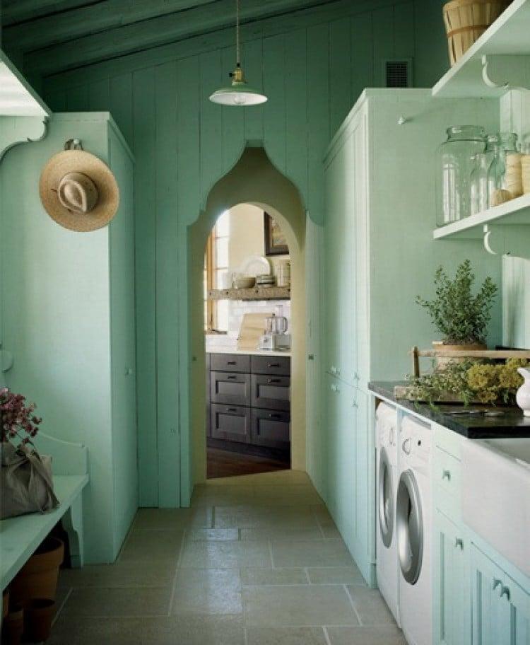 blue rooms aqua laundry room