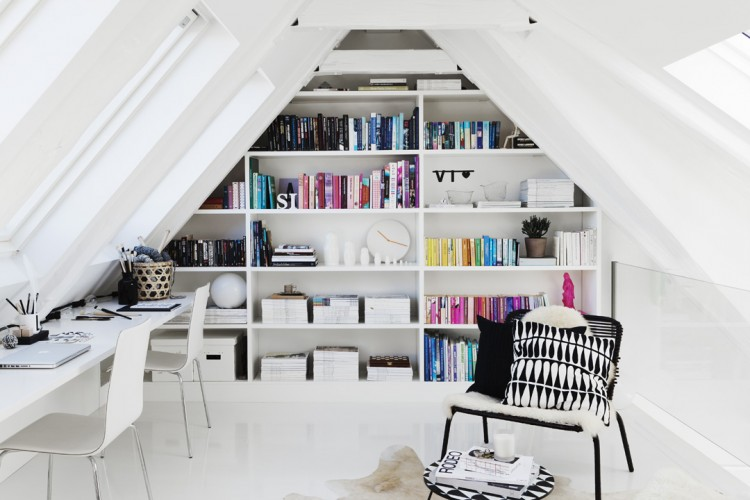 attic home office. attic home office maximizing space