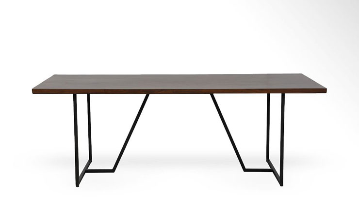 West Elm - Geometric Base Dining Table - $1,499