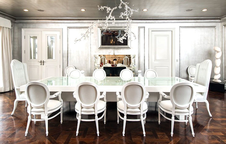 bcbg max azria holmby hills home for sale formal dining room