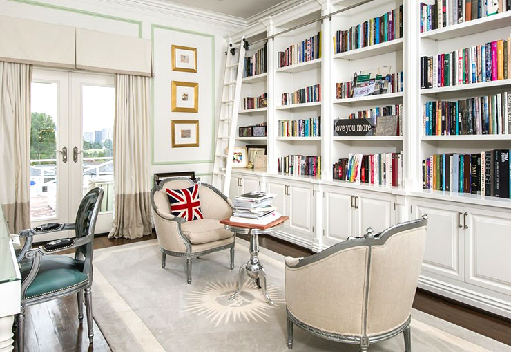 bcbg max azria holmby hills home for sale library