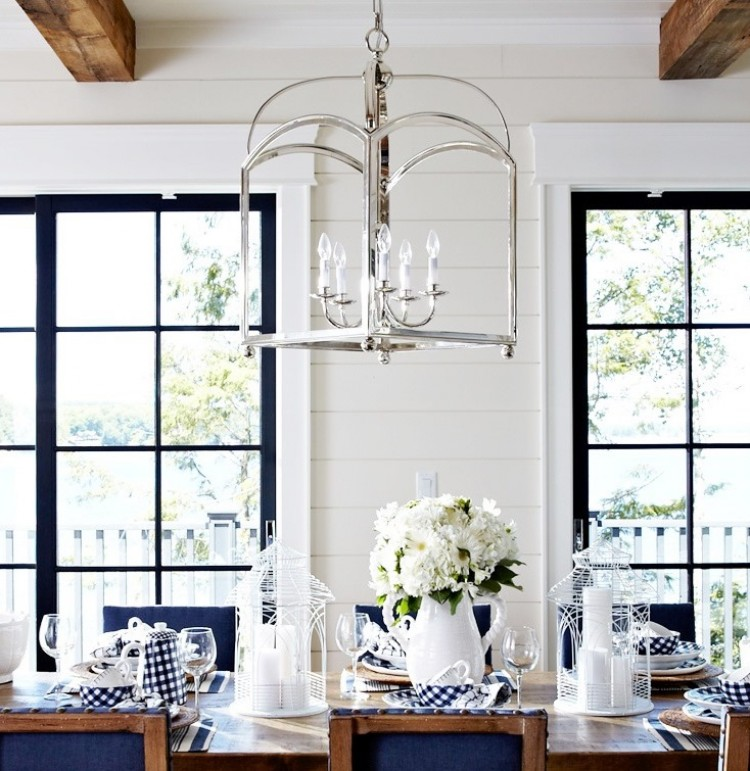 essentials to creating a perfect modern country cottage dining room