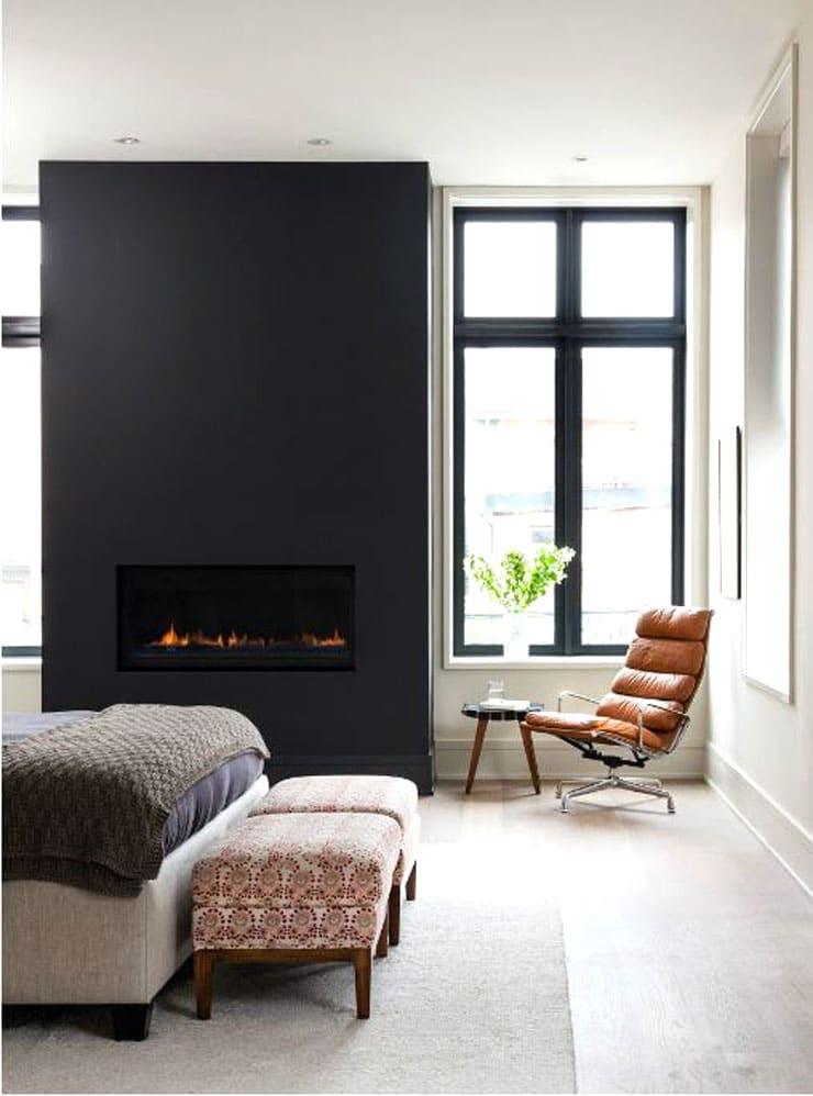 Apartment Decorating Ideas - Fresh Black Accents