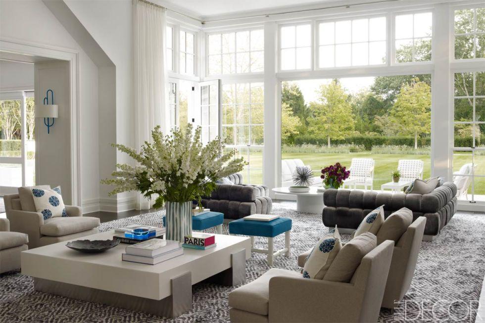 Living room furniture layout inspiration