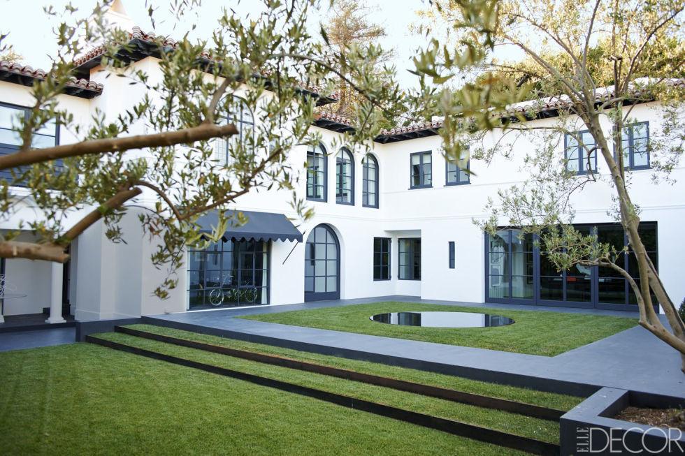 Spanish Style Home Exterior Lori Laughlin