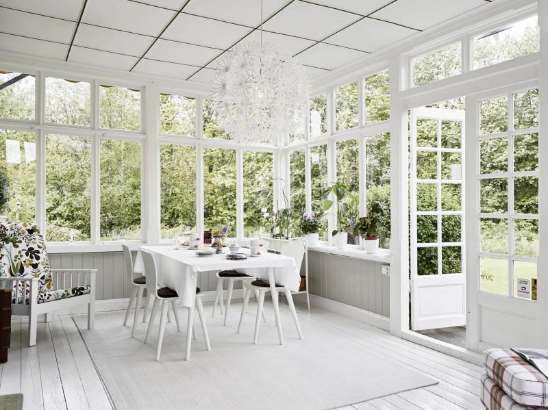 Sunroom Designs Dining Room Garden Views