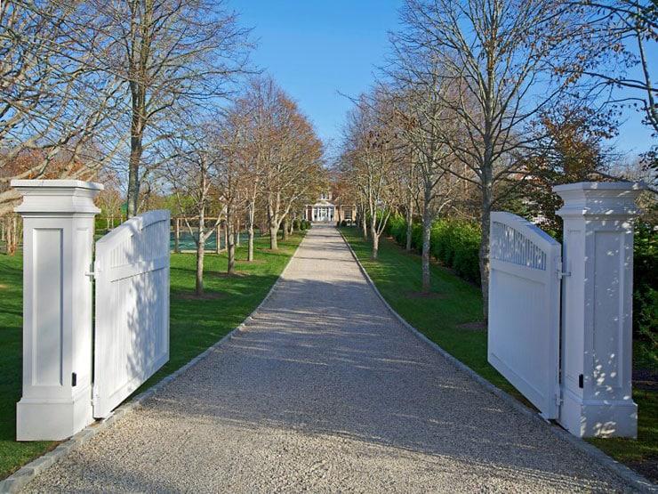 House Tour Bridgehampton Beauty Front Gates
