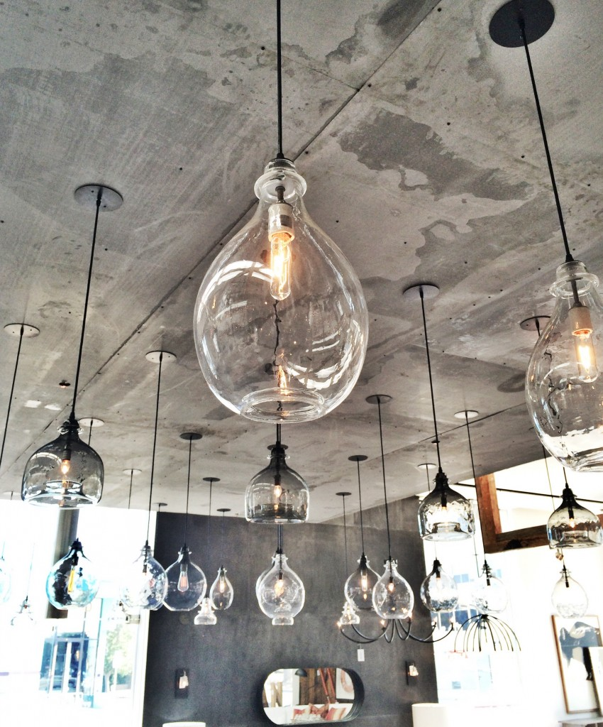Home Renovation Kitchen Hand blown glass pendant lights