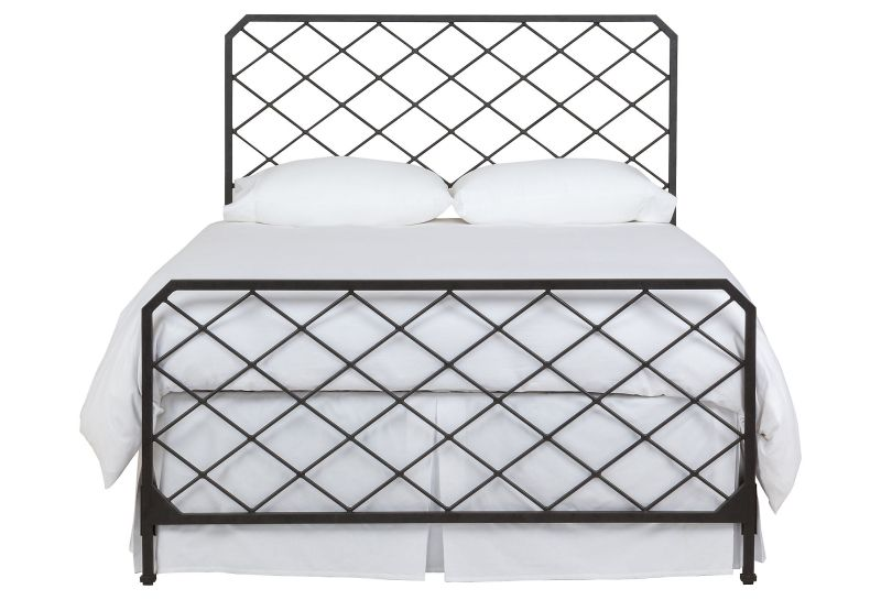 Iron bed lattice