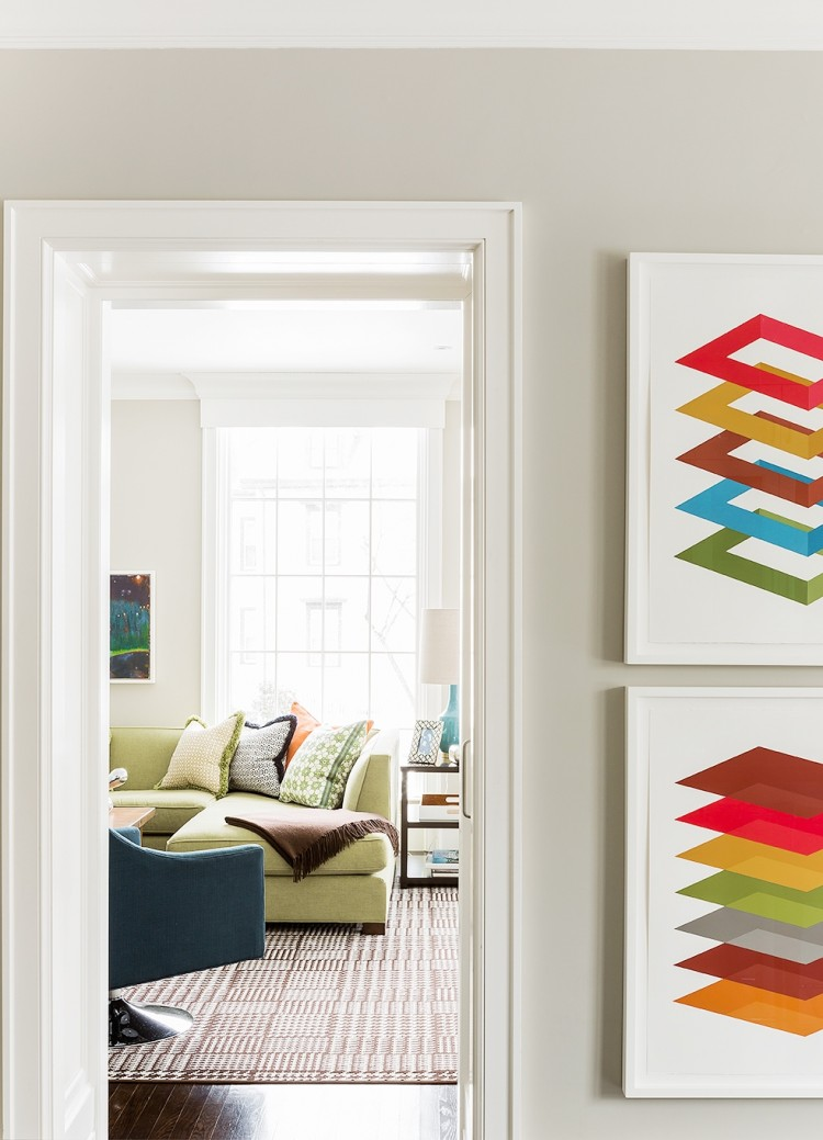 decorating ideas bright colorful living room