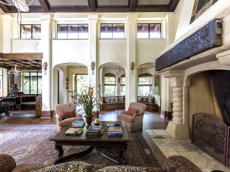 Million dollar napa home tour this or that cococozy for Million dollar living rooms