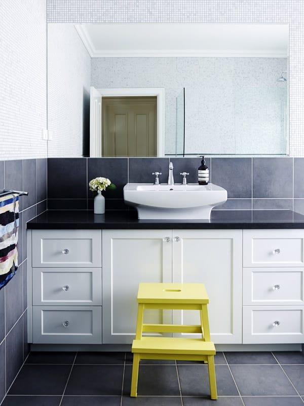 Yellow home design ideas bathroom