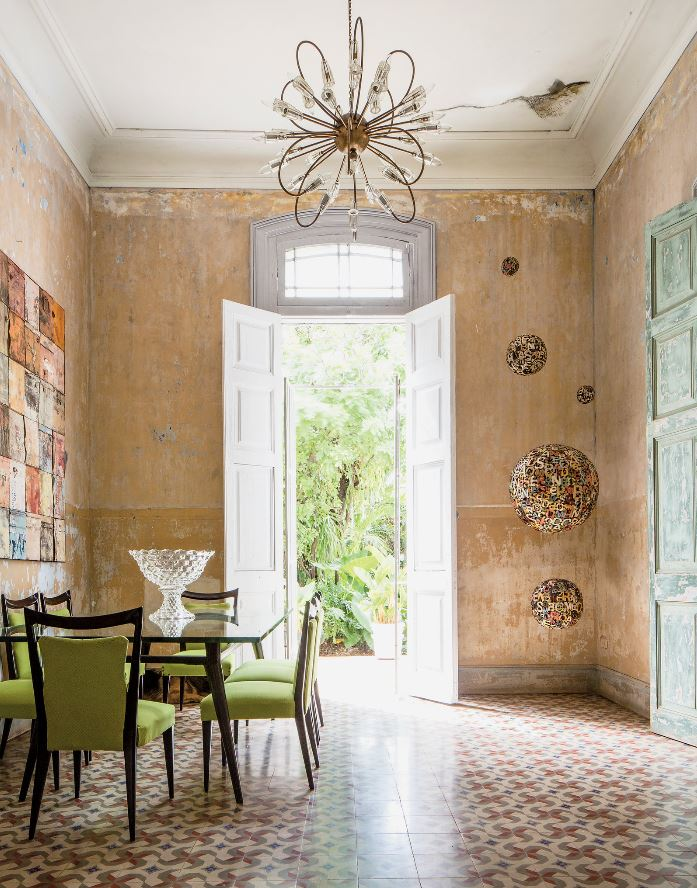 havana home dining room nyt cococozy tile floor