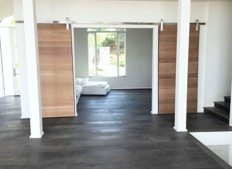 ... malibu interior barn doors library den cococozy 1 & Interior Barn Doors - Malibu Home Renovation