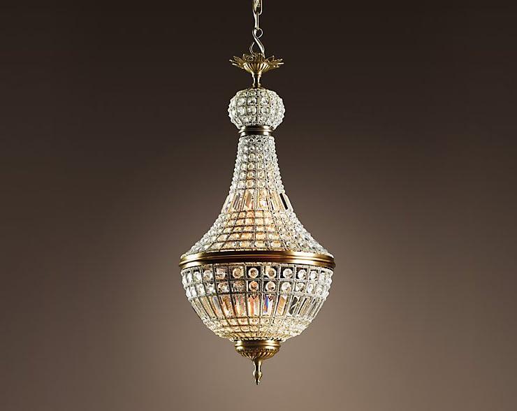 Restoration Hardware french empire chandelier