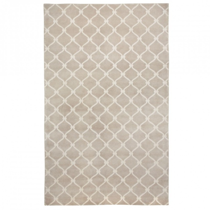 COCOCOZY Fence Rug - Indo-Tibetan Hand knotted Wool