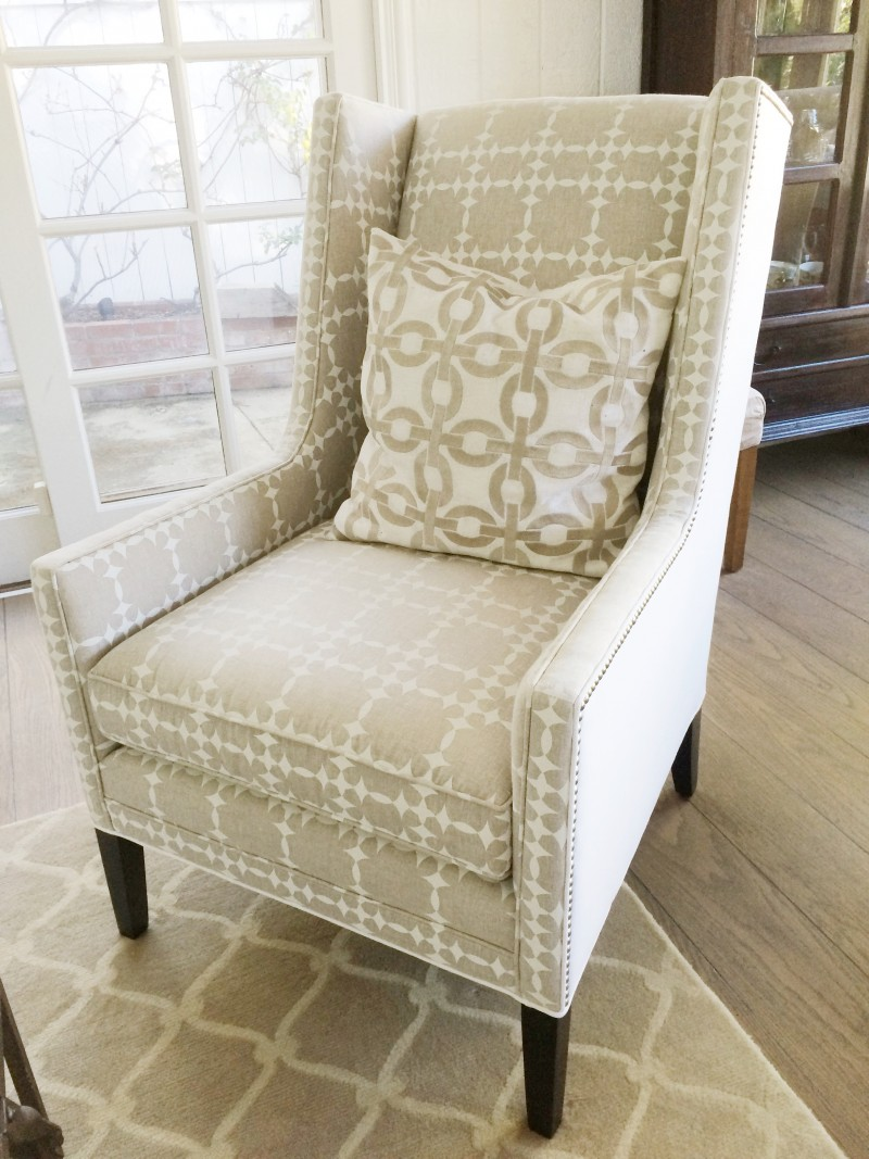 COCOCOZY wingback chair socococozy