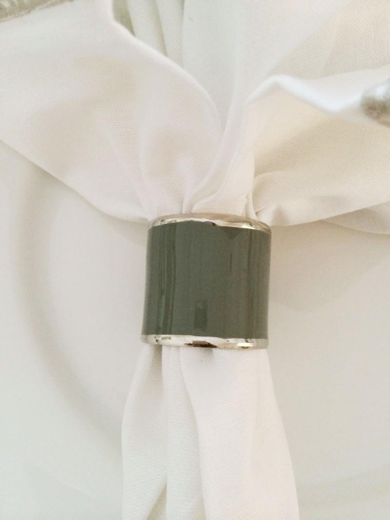 Holiday Tabletop decor enamel napkin ring