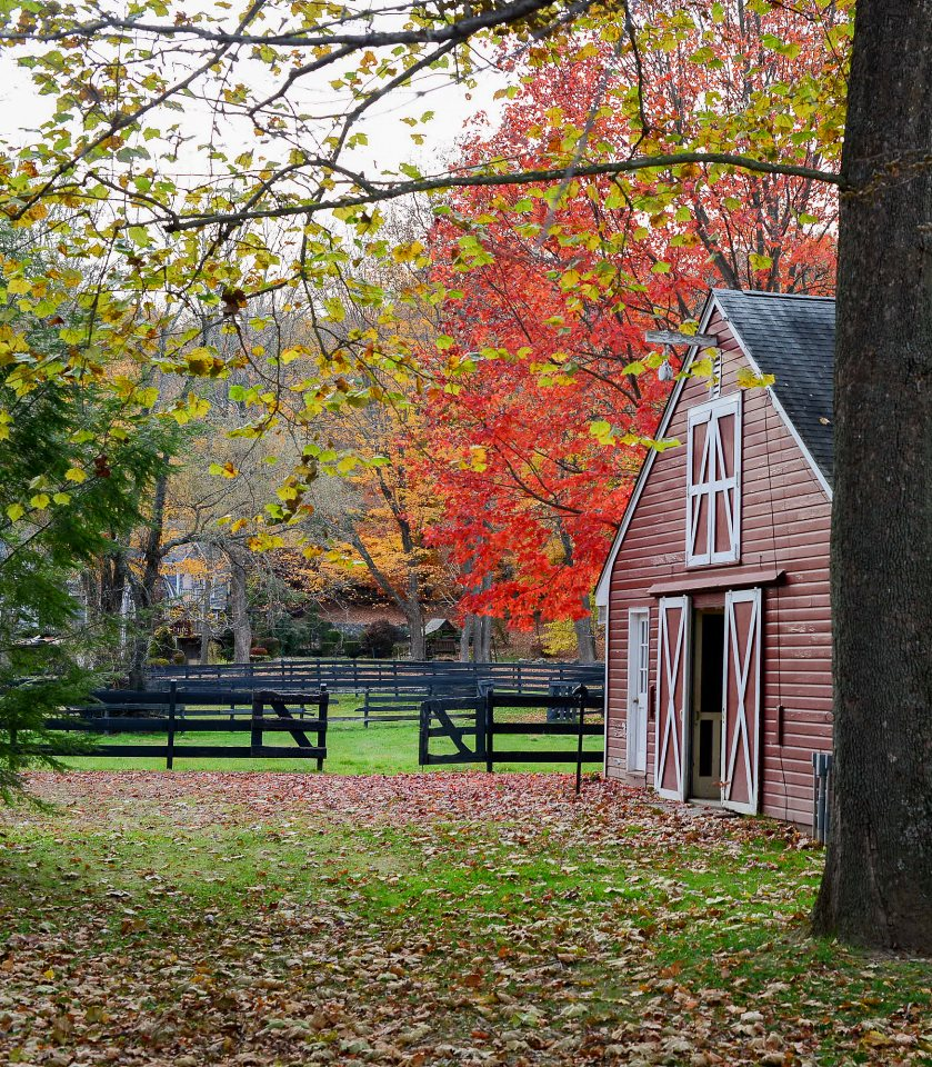 rustic farmhouse restoration red barn exterior