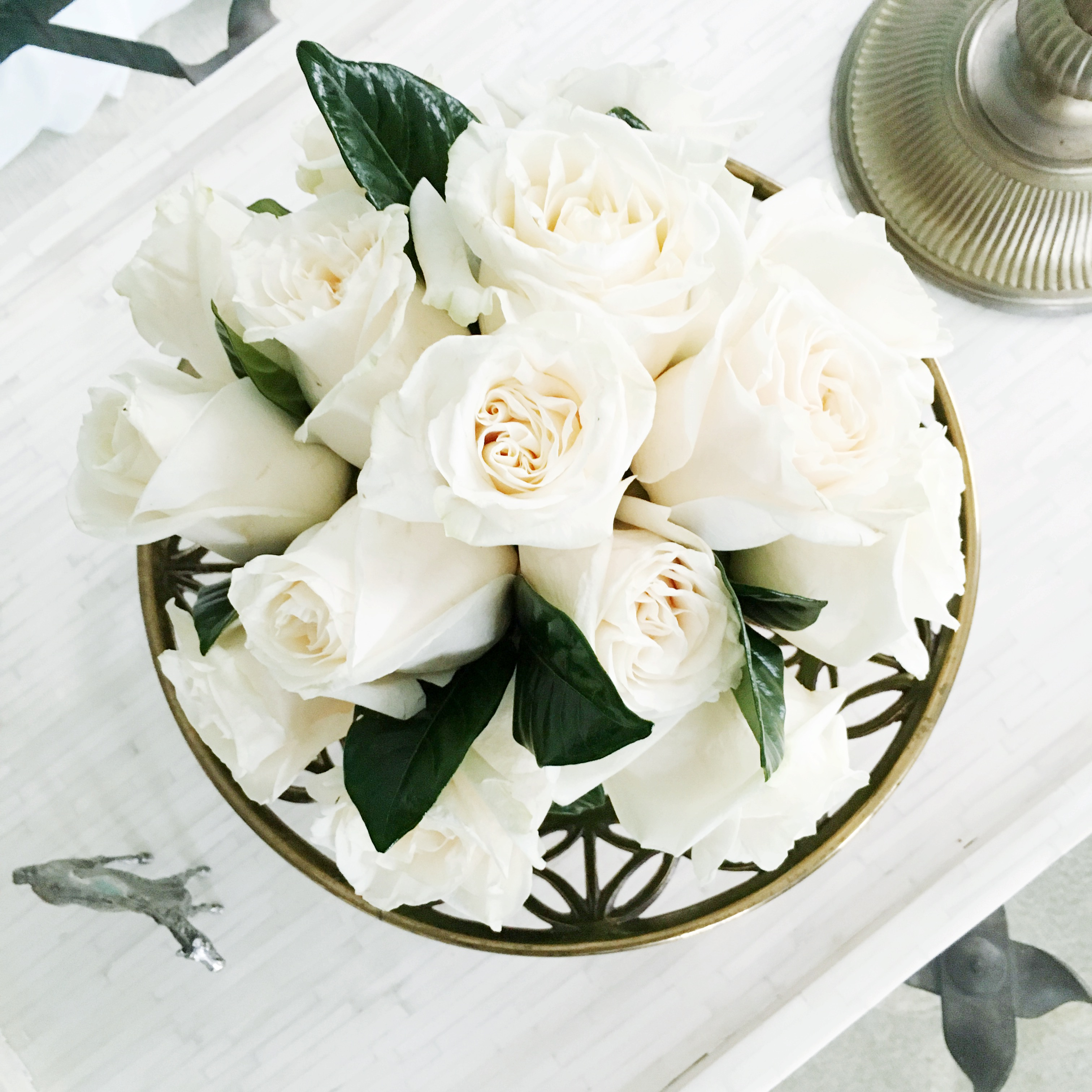 White Roses Coffee Table