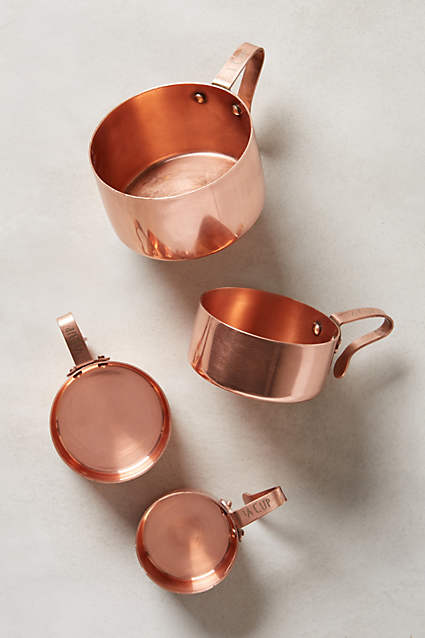 Copper Kitchen Accessories. Russet Measuring Cups   Anthropologie