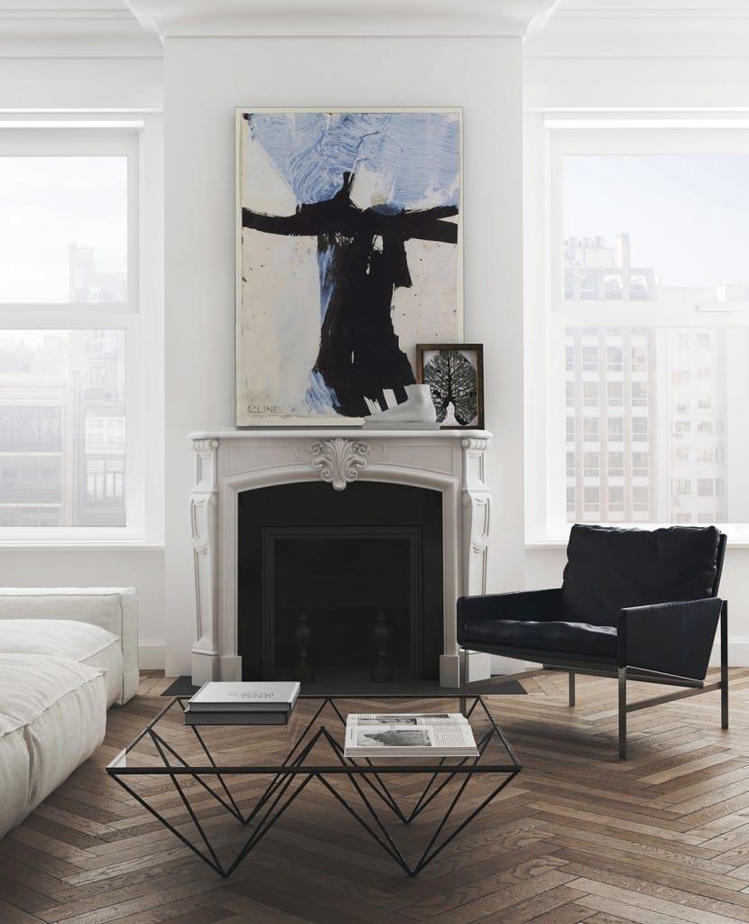 Herringbone Wood Floors Perfected - Apartment Tour