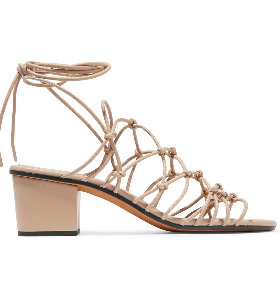 cheap to chic chloe strappy sandal