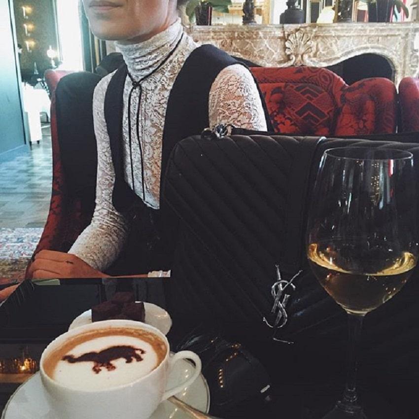 Paris-fashion-week-lace-turtelneck-ysl-purse-cococozy-frwd